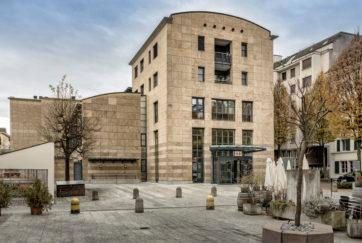 Staatsarchiv - Ansicht N - Gassner Ziegler Partner Architekten - 1993 - Luzern