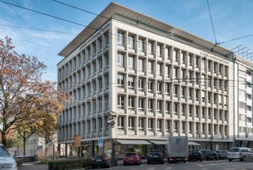 Kantonale Gebäudeversicherung - Ansicht W - Mozzatti, Anton - 1954 - Luzern