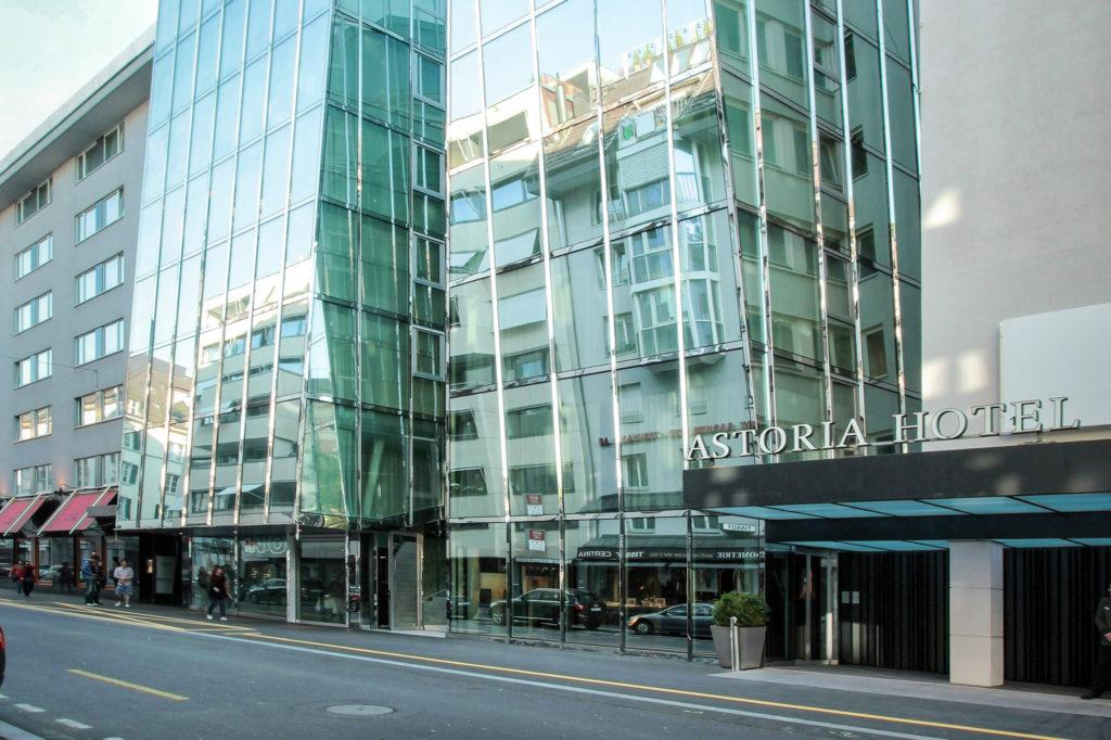 Erweiterung Hotel Astoria - Ansicht Nord - Herzog De Meuron - 2007 - Luzern