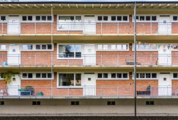 Wohnsiedlung Geissmatt - Ansicht Ost (Hof) - Mossdorf, Carl - 1936 - Luzern
