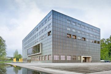 Armeeausbildungszentrum - Ansicht SO - Enzmann Fischer - 1999 - Luzern