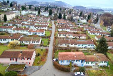 Gartenheimsiedlung - Übersicht - Auf der Maur, Heinrich - 1947 - Luzern