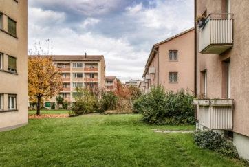 Siedlung Grosshof - Ansicht Südwest - Renggli, Eduard - 1957 - Kriens
