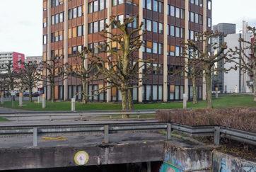 Gemeindeverwaltung Emmen - Ansicht Ost - Steger, Paul - 1972 - Emmenbrücke