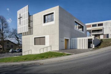 Kirchenzentrum Höfli - Ansicht Süd - ALP Architektur Lischer Partner AG - 2016 - Ebikon
