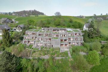 Schönstatt-Wohnstätte - Ansicht Südwest - Hohler, Walter - 1982 - Horw