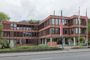 Gemeindehaus - Ansicht Südost - Dillier, Paul - 1975 - Sarnen