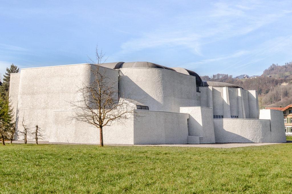 Kollegiumskirche St. Martin - Ansicht Ost - Studer Studer Naef - 1966 - Sarnen