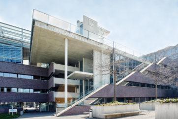Guido A. Zäch-Institut - Ansicht Nordwest - Steib Steib - 2005 - Nottwil