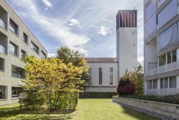 Guthirt-Kirche - Ansicht Nord - Metzger, Fritz, Stadler Wilhelm - 1937 - Zug
