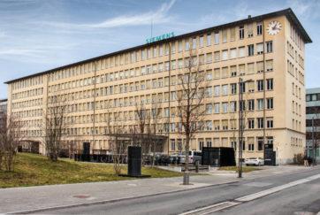 Verwaltung Landis & Gyr - Ansicht Südost - Baubüro Landis Gyr - 1943 - Zug