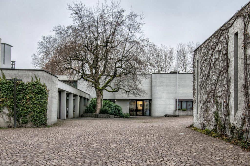 Zentrum St. Johannes - Ansicht Ost (Pfarreizentrum) - Hafner Wiederkehr - 1971 - Zug