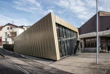 Bibliothek - Ansicht Süd - Roland Kälin Architekten GmbH - 2011 - Menzingen