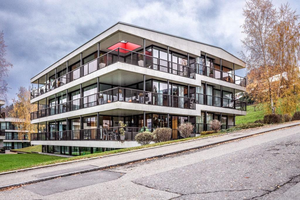 Wohnüberbauung Erlimatt - Ansicht Südost - Dettli Nussbaumer GmbH - 2006 - Oberägeri