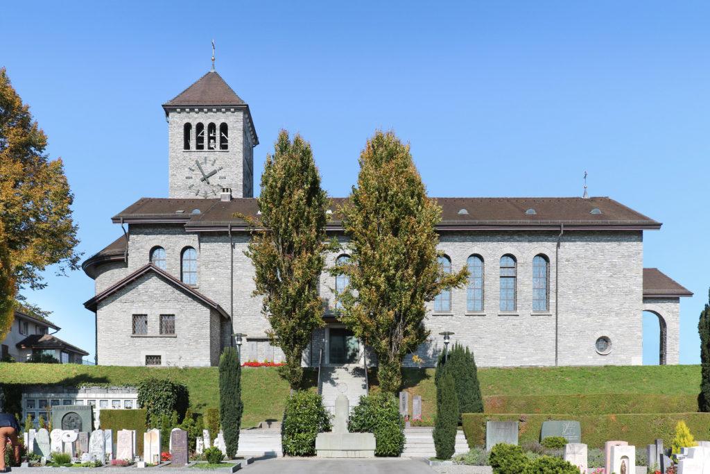 Liebfrauenkirche - Ansicht Süd - Steiner, Joseph - 1938 - Rotkreuz
