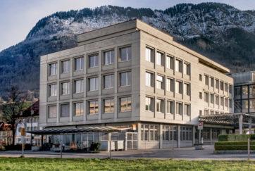 Postgebäude - Ansicht Nord - Stöckli, Arnold - 1970 - Stans