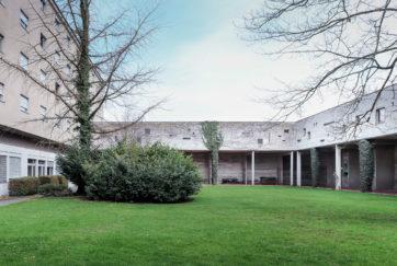 Hoftrakt des Missionshauses - Ansicht Südwest - Glaus, Otto - 1959 - Immensee