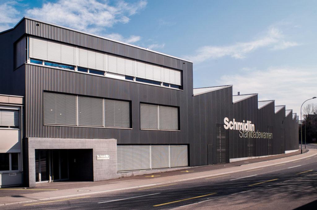 Produktionshalle - Ansicht West - Dettling Wullschleger Architekten AG - 2010 - Oberarth