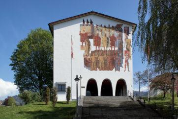 Bundesbriefmuseum - Ansicht Süd - Beeler, Josef - 1936 - Schwyz