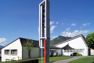 Reformierte Kirche - Ansicht Ost - Hubacher Constam - 1958 - Ibach