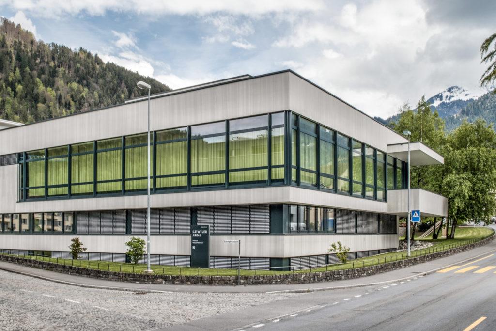Personalhaus Dätwyler AG - Ansicht West - Rohn, Roland - 1965 - Altdorf