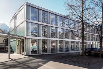 Werkhof EWA - Ansicht Nord (Verwaltung) - H2S Architekten - 1998 - Altdorf