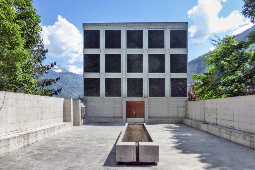 Ort der Besinnung - Ansicht Südwest - Guignard Saner Architekten - 1998 - Erstfeld