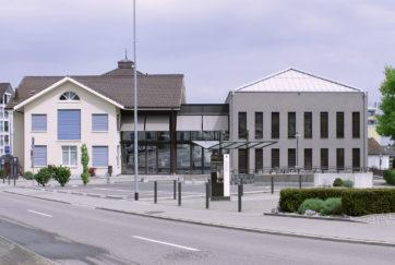 Pfarreiheim - Ansicht Süd - Hörner Architektur - 2013 - Altendorf