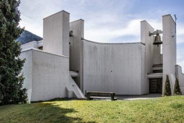 Pfarrkirche St. Josef - Ansicht Nordost - Studer Studer Naef - 1970 - Buttikon