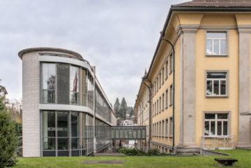 Suva-Erweiterung «Trakt C» - Ansicht Südwest - Hengartner, Hans-Urs, Gübelin Rigert - 1995 - Luzern