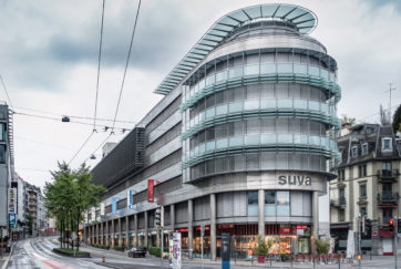 Wohn- und Geschäftshaus Suva - Ansicht Süd - Eggstein, Hans - 1997 - Luzern