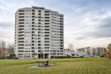 Wohnhochhaus Schönbühl - Ansicht Südost - Aalto, Alvar, Fleig, Karl, Wandeler, Max-Milian - 1968 - Luzern