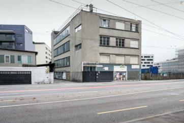 Gewerbegebäude - Ansicht Südwest - Mossdorf, Carl - 1933 - Luzern