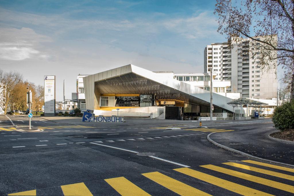 Einkaufszentrum Schönbühl - Ansicht West - Roth, Alfred - 1968 - Luzern