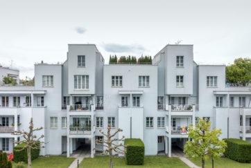 Wohnanlage Schönbühlstrand - Ansicht Ost - Wandeler, Max-Milian - 1996 - Luzern