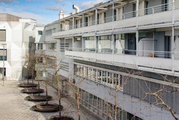 Wohn- und Geschäftshaus - Ansicht Süd - Ammann Baumann - 1984 - Luzern