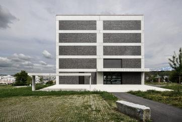 Stadtarchiv Luzern - Ansicht Südwest - Enzmann Fischer Partner AG - 2015 - Littau