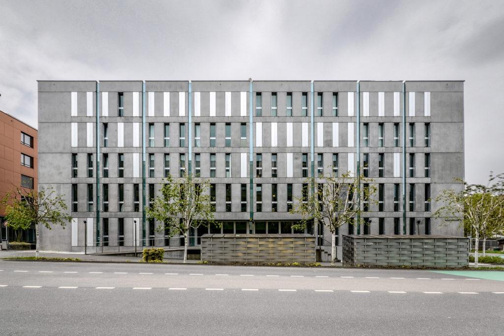 Gemeindehaus Riedmatt - Ansicht Nordost - Lustenberger Condrau Architekten AG - 2003 - Ebikon