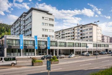 Wohn- und Geschäftshaus - Ansicht Nord - Meyer, Gisbert, Wicker Steiger Orsolini - 1970 - Ebikon