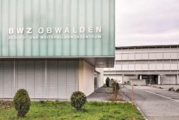 BWZ Obwalden - Ansicht Süd - Henggeler, Aldo - 1972 - Sarnen