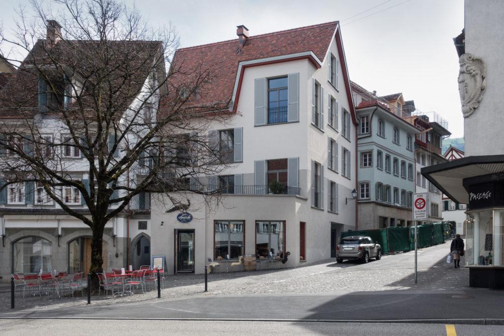 Haus für junge Menschen - Ansicht West - Lando Rossmaier Architekten AG - 2017 - Zug