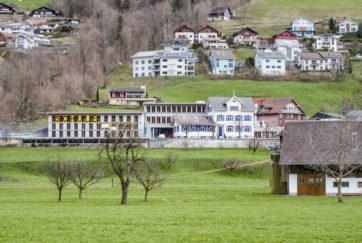 Schulhauserweiterung - Ansicht Süd - Marques Zurkirchen - 1993 - Büren