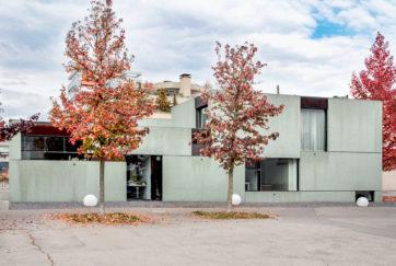Pfarreihaus - Ansicht Süd - BDE Architekten, Schleiss Zürcher Architekten - 2005 - Steinhausen