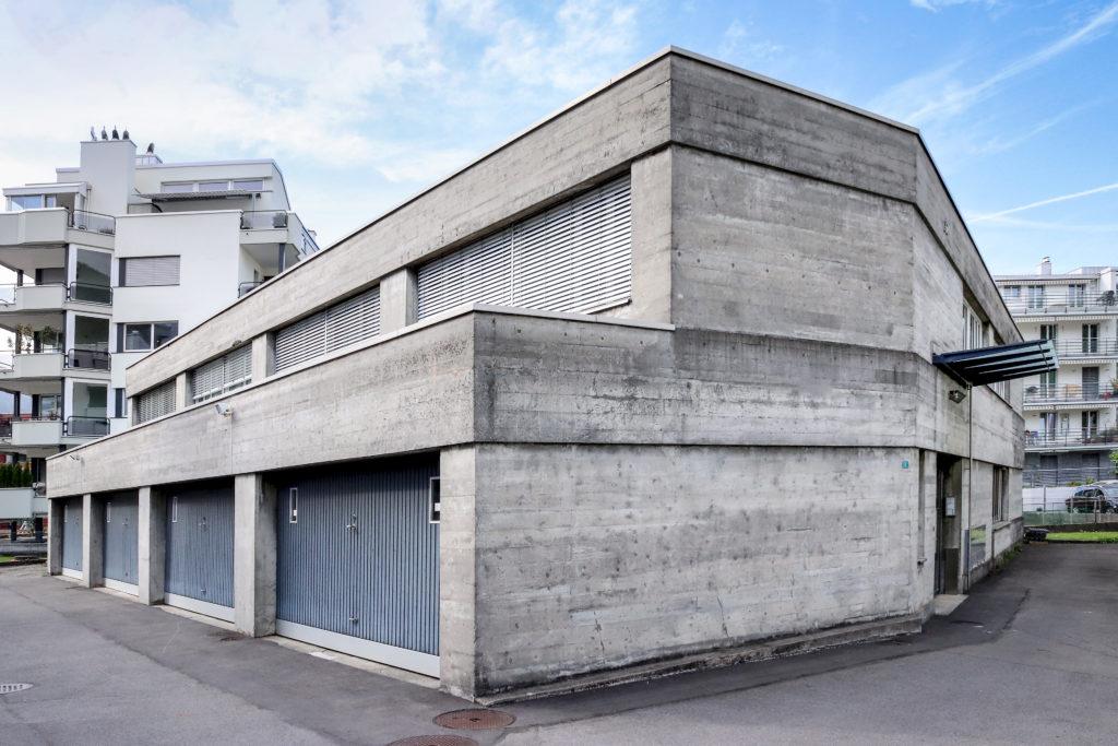 Geschäftshaus - Ansicht Ost - Hodel, Fritz - 1970 - Stansstad