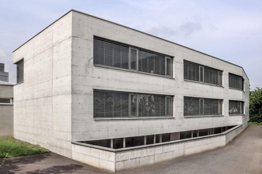 Heilpädagogische Schule - Ansicht Nordost - Lussi Halter - 2004 - Stans