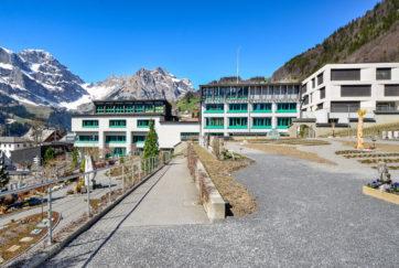 Gemeindeschule - Ansicht Ost - Gisel, Ernst - 1967 - Engelberg