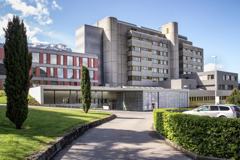 Erweiterung Spital - Ansicht Nord - BSS Architekten AG - 2013 - Schwyz