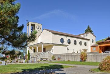 Herz Jesu-Kirche - Ansicht Südost - Meyer, Gisbert - 1939 - Finsterwald bei Entlebuch
