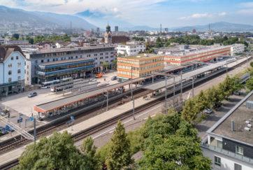 Ensemble Bahnhofsplatz - Ansicht Süd - Gigon Guyer Architekten - 2008 - Baar