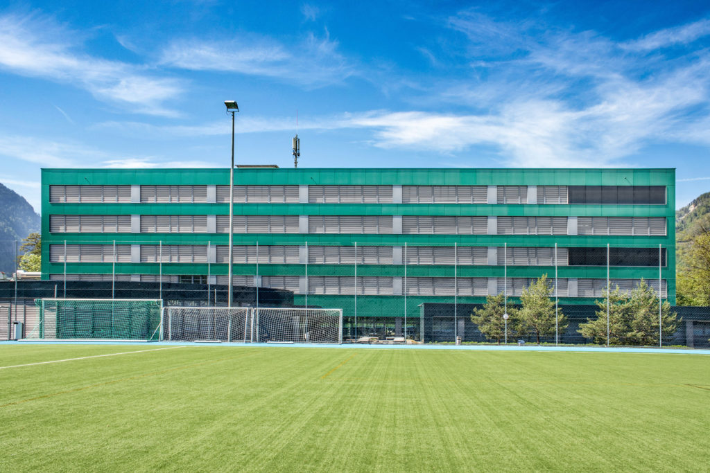 Berufsbildungszentrum - Ansicht Südost - Butti, Umberto - 1966 - Goldau